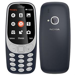 Nokia 3310 3G Dual Sim Dark Blue With 1 Year Official Warranty