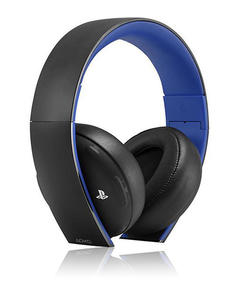 Sony PlayStation- Gold Wireless Headset - PS4  PS3  PS Vita