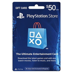 Sony Playstation Store Gift Card $50 - PS4/PS3/PS Vita (For USA Region)