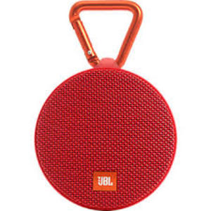 JBL Clip 2 Wireless Bluetooth Speaker (RED)