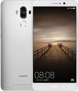 Huawei Mate 9 Dual Sim (4G - 64GB) MoonLight Silver Official Warranty