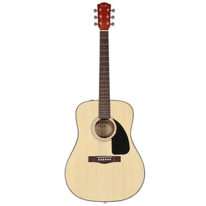 FENDER CD-60 DREADNOUGHT ACOUSTIC GUITAR- NATURAL COLOR