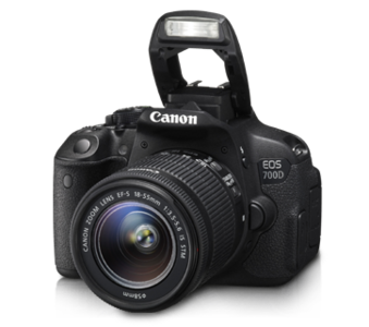Canon EOS 700D 18-55mm III Lens DSLR Camera