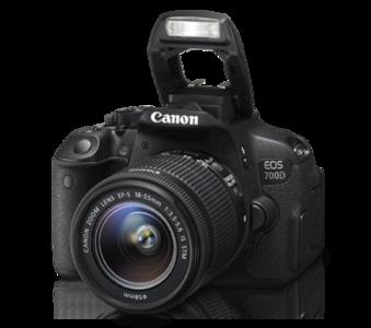 Canon EOS 700D 18-55mm Lens Digital SLR Camera (MBM Warranty)