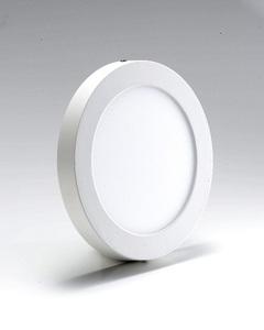 Opera LED Surface Panel Light 6w Round White