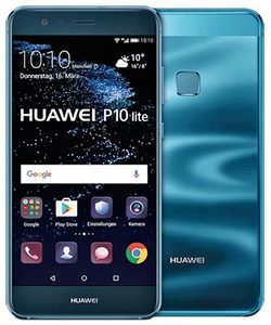 Huawei P10 Lite Dual Sim (4G  32GB  Sapphire Blue) With Official Warranty