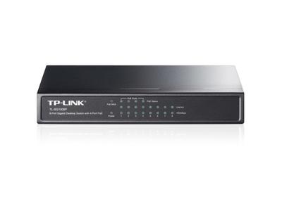 TP Link-SG1008P 8-Port Gigabit Desktop Switch with 4-Port PoE