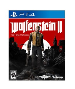 Wolfenstein II: The New Colossus Game For PS4