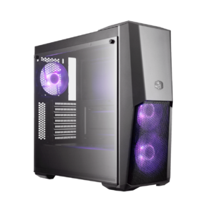 Cooler Master MCB-B500D-KGNN-S00 MasterBox MB500 With Front Mesh Ventilation Mid-Tower Computer Case