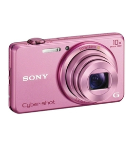 Sony DSC-WX200 Digital Compact Camera with WiFi (Pink)