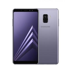 Samsung Galaxy A8 2018 Dual Sim (4G  4GB RAM  64GB ROM  Orchid Gray) Official Warranty