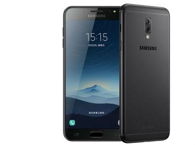Samsung Galaxy C8 Dual Sim (3GB RAM  32GB ROM  Black) Taiwan