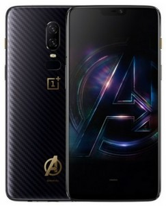 OnePlus 6 Dual Sim - 256GB  8GB RAM  4G LTE  Avengers Edition