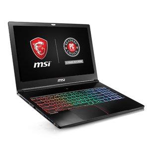 MSI GS63VR STEALTH PRO-078 15.6 120Hz 3ms Ultra Thin and Light Gaming Laptop i7-7700HQ GTX 1070 8G 16GB 256GB SSD + 1TB  Aluminum Black