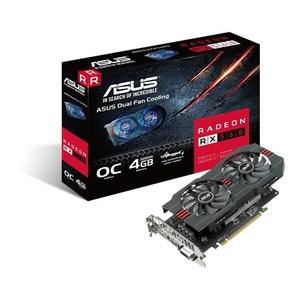 ASUS Radeon RX 560 OC 4GB GDDR5 128-bit Graphics Card - RX560-O4G (3 Years Limited Warranty)