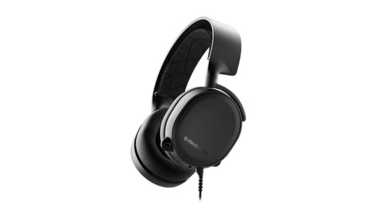 SteelSeries Arctis 3 2019 Edition - Black - All Platform Gaming Headset for PC PlayStation 4  Xbox One  Nintendo Switch  VR  Android  and Ios