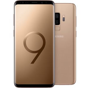 Samsung Galaxy S9+ G965FD Dual Sim (4G  6GB RAM  128GB ROM  Sunrise Gold)
