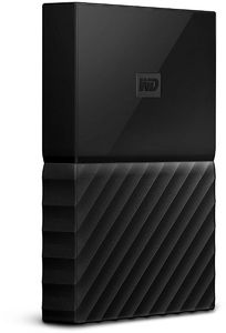 WD 1TB My Passport Portable External Hard Drive USB 3.0 - Black