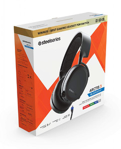 SteelSeries Arctis 3 Bluetooth 2019 Edition Wired Gaming Headset + Bluetooth - For Nintendo Switch  PC  PlayStation 4  Xbox One  VR  Android  and iOS