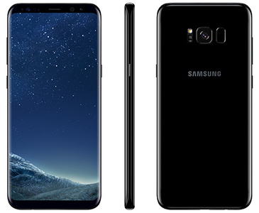 Samsung Galaxy S8 Plus G955FD Dual Sim (4G  64GB  Midnight Black)