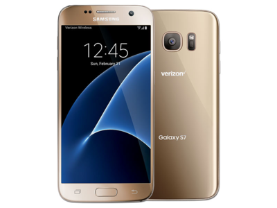 Samsung Galaxy S7 G930T T-Mobile (4G - 32GB) Gold Platinum
