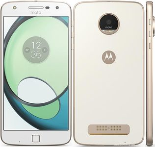 Motorola Moto Z Play Droid (4G  32GB  White) Official Warranty