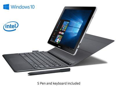 Samsung Galaxy Book Inter Core i5 7th Gen 4GB RAM  128GB  12  2-in-1 PC  Silver With Keyboard