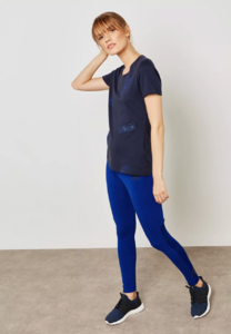 Adidas Linear T-Shirt ( Navy)