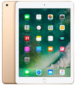 Apple iPad (5th Generation) (128GB  WiFi  Gold)