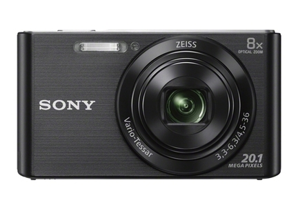 Sony DSC-W830 Black Digital Camera
