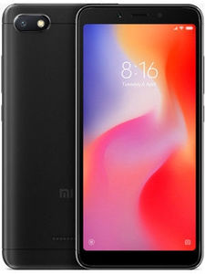 Xiaomi Redmi 6A Dual Sim (4G  2GB RAM  16GB ROM  Black) 1 Year Official Warranty