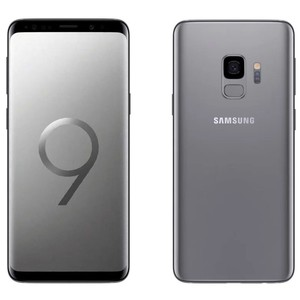 Samsung Galaxy S9 Dual Sim (4G  4GB RAM  64GB ROM  Titanium Gray) 1 Year Official Warranty