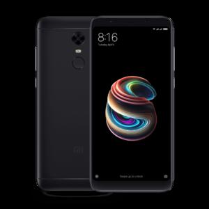 Xiaomi Redmi 5 Plus Dual Sim (4G  4GB RAM  64GB  Black) 1 Year Official Warranty