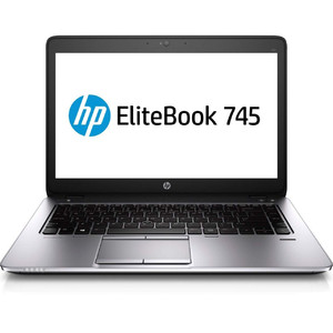 2018 HP EliteBook 745 G2 14 Notebook AMD A8 7150B up to 3.2G Webcam 8G RAM 500G HDD USB 3.0 VGA DP Port Win 10 Pro 64 Bit Multi-Language Support English/Spanish (Certified Refurbished)