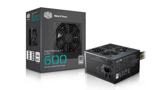 Cooler Master MasterWatt Lite 600W - Black