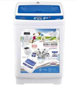 Boss K.E-AWM-9200-BS-W Automatic Washing Machine