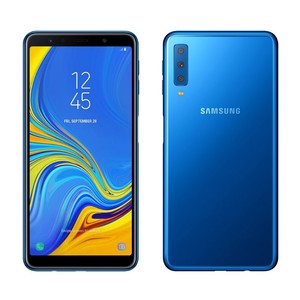 Samsung Galaxy A7 2018 A750FD (4G  4GB RAM  128GB  Blue) 1 Year Official Warranty