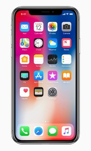 Apple iPhone X (4G  64GB  Silver)