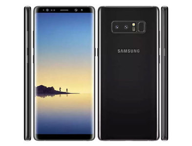 Samsung Galaxy Note 8 N950U AT&T Single Sim (4G  6GB RAM  64GB ROM  Midnight Black)