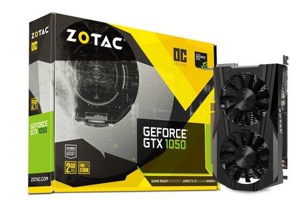 ZOTAC GEFORCE® GTX 1050 OC EDITION ZT-P10500C-10L