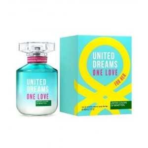 Benetton United Dreams One Love EDT Perfume For Women 80ML