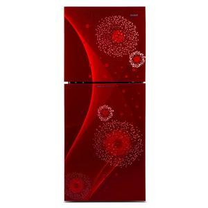 Orient 200 Diamond Glass Door Refrigerator (RED)