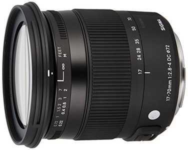 Sigma F2.8-4 Contemporary DC Macro OS HSM 17-70mm Zoom Lens for Canon EF-S Cameras