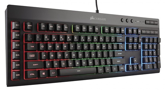 Corsair Gaming K55 RGB Keyboard  Backlit RGB LED