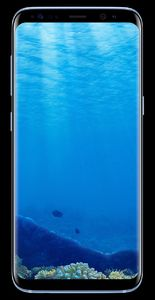 Samsung Galaxy S8 G950FD Dual Sim (4G  64GB  Coral Blue) Official Warranty