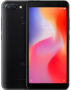 Xiaomi Redmi 6 Dual Sim (4G  3GB RAM  64GB  Black) 1 Year Official Warranty
