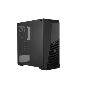 Cooler Master MCB-K501L-KANN-S00 MasterBox K501L RGB Mid-Tower Gaming Cabinet With Pre-Installed Fans & Tempered Glass Side Panel