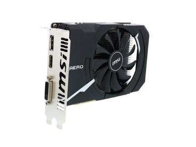 MSI GTX 1050 Aero ITX 2G OC 2GB Graphics Card (1 Year Warranty)