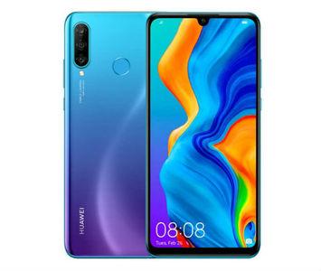 Huawei P30 lite Dual Sim(4G  4GB RAM  128GB ROM  Peacock Blue) 1 Year Official Warranty
