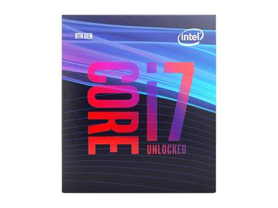 Intel Core i7-9700K 9th Generation Processor 8 Cores up to 4.9GHz Turbo Unlocked LGA1151 300 Series 95W - Tray - 1 Year Warranty